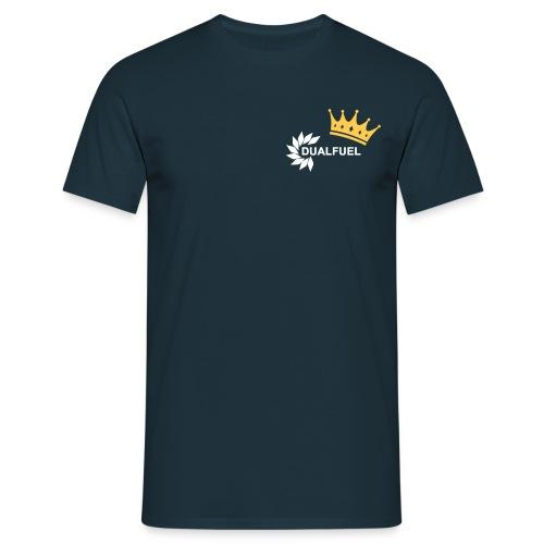 DualFuel Crown Top - Blue - Men's T-Shirt