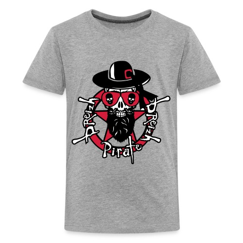 General SKULL breizh pirate - T-shirt Premium Ado