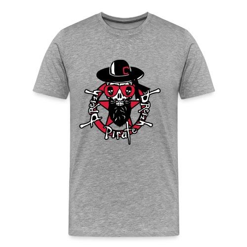 General SKULL breizh pirate - T-shirt Premium Homme