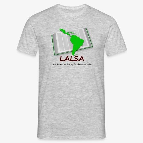 LALSA Mens T-shirt w/Dark lettering - Men's T-Shirt