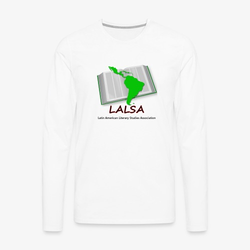 LALSA Longsleeve T-shirt w/Dark lettering - Men's Premium Longsleeve Shirt