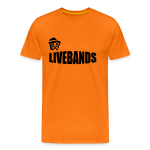 Livebands - Männer Premium T-Shirt