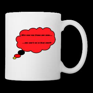 Kaffee-Tasse für echte Ossi´s  ;)) - Tasse