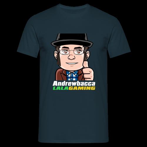 LALA Gaming Colour Text (Navy) - Men's T-Shirt