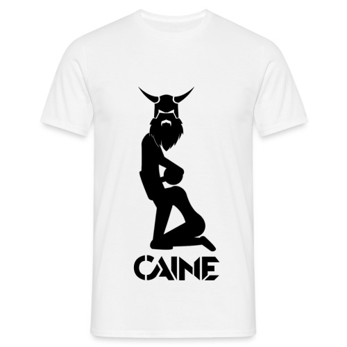 Caine Logo Black - Men's T-Shirt