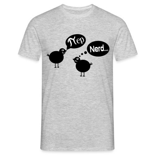 Vogel Pi Nerd Männer T-Shirt - Männer T-Shirt