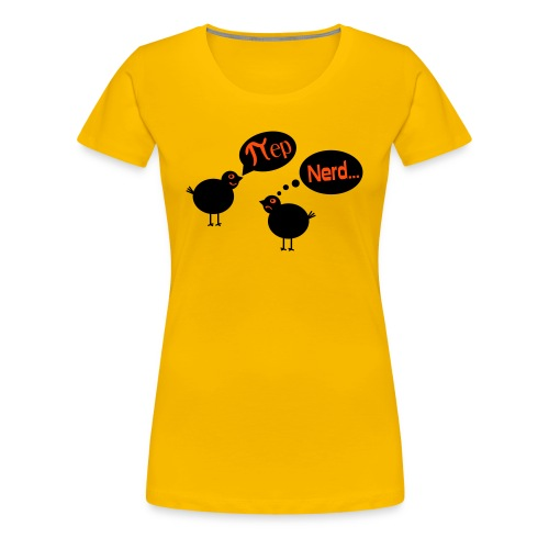 Vogel Pi Nerd Frauen T-Shirt - Frauen Premium T-Shirt