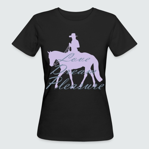 Motiv-159-Lavendel-Silbermetallic - Frauen Bio-T-Shirt