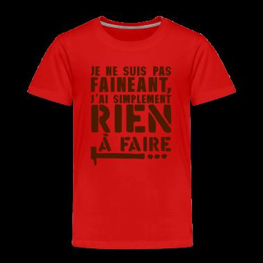 Tee shirt citation faineant rien faire marteau tee shirts spreadshirt - Faire tee shirt personnalise ...