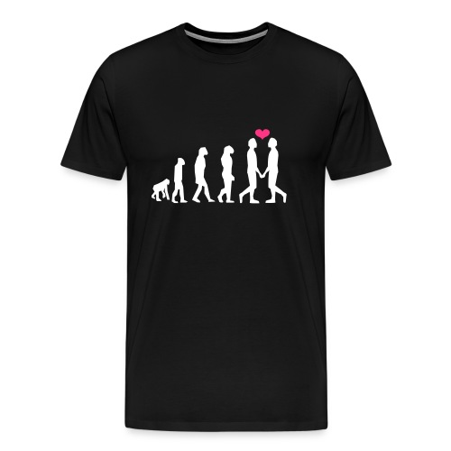 gay evolution Premium Shirt - Männer Premium T-Shirt
