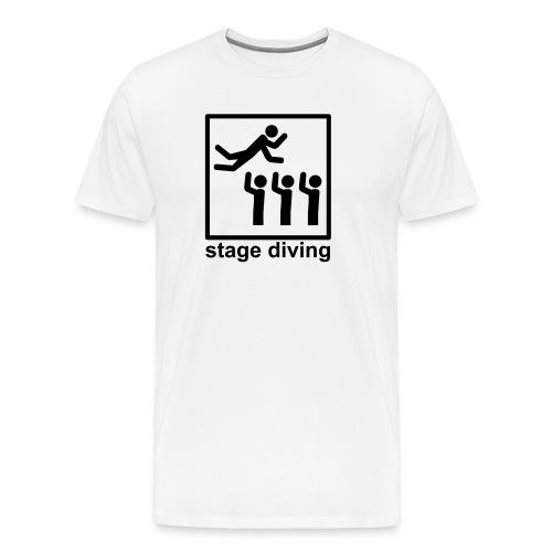Stage Diving - Männer Premium T-Shirt