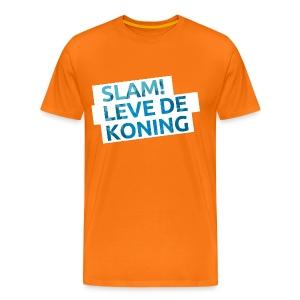 SlamFM feest Koningsdag t-shirt  - Mannen Premium T-shirt