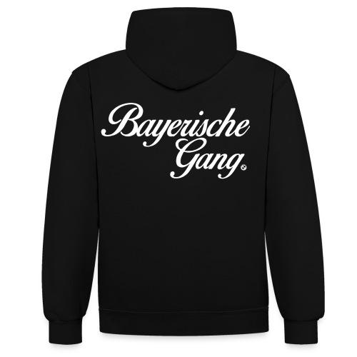 Bayerische Hoodie Premium 2 Colour - Contrast Colour Hoodie
