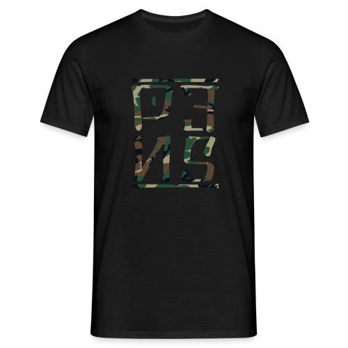 CAMO LOGO SHIRT - T-shirt herr