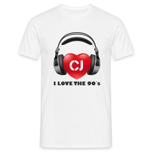 I love the 90´s - Männer T-Shirt
