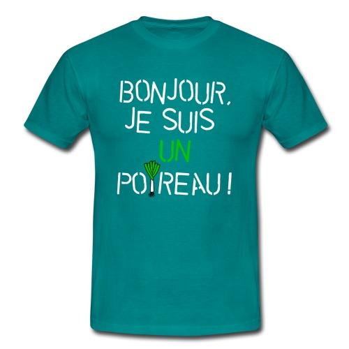 Bonjour, je suis un poireau ! - T-shirt Homme