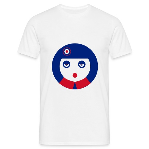 camiseta shirt mod white pop - Camiseta hombre