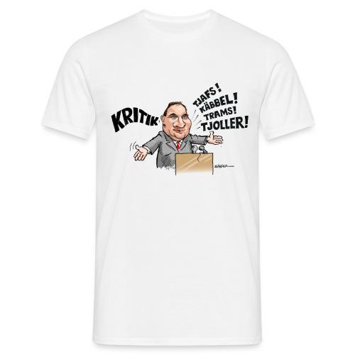 Stefan Löfven och kritik - T-shirt herr