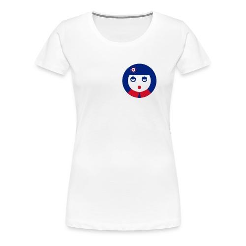 camiseta shirt mod girl chica  - Camiseta premium mujer