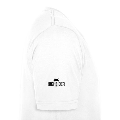 Highsider.net T-Shirt / weiß - Männer Bio-T-Shirt mit V-Ausschnitt von Stanley & Stella
