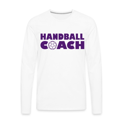 Handball Couch - Männer Premium Langarmshirt