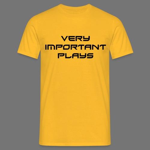 VIPshirt Gelb Männer - Männer T-Shirt