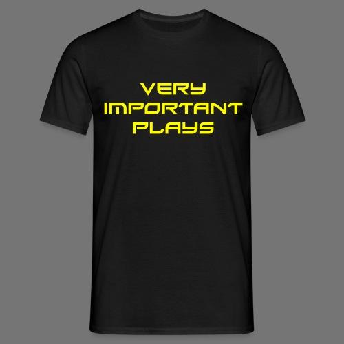 VIPshirt Schwarz Männer - Männer T-Shirt