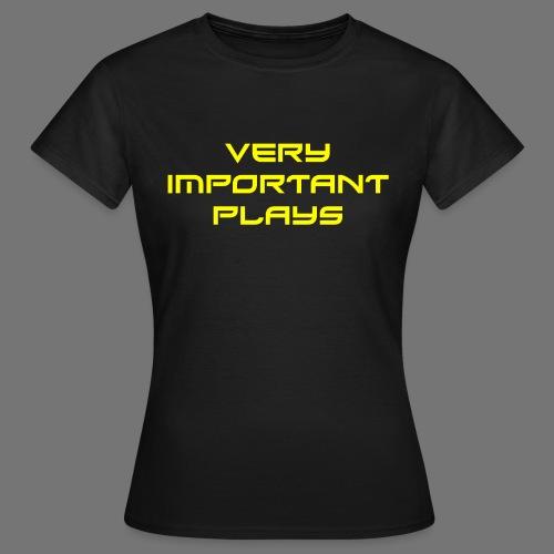 VIPshirt Schwarz Frauen - Frauen T-Shirt