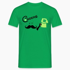 cheers st.Patty's drink Men's T-Shirt