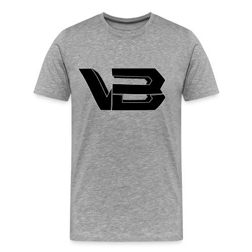 ViiBz Male T-Shirt Grey - Men's Premium T-Shirt
