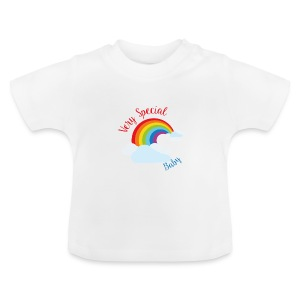 Very special baby rainbow cloud tshirt - Baby T-Shirt