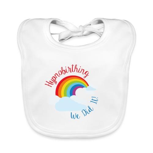 Hypnobirthing rainbow bib - Baby Organic Bib
