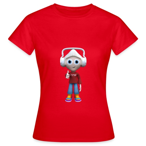 M R Character Thumbs Up (Womens T-Shirt) - Women's T-Shirt
