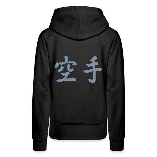 Hoodie dames OSU! Karate achterkant - Vrouwen Premium hoodie