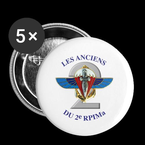 badge les anciens du 2  - Badge petit 25 mm