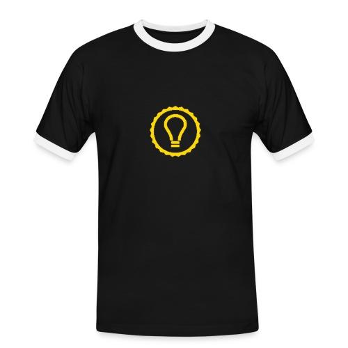 Leuchte Männer Kontrast-T-Shirt - Männer Kontrast-T-Shirt