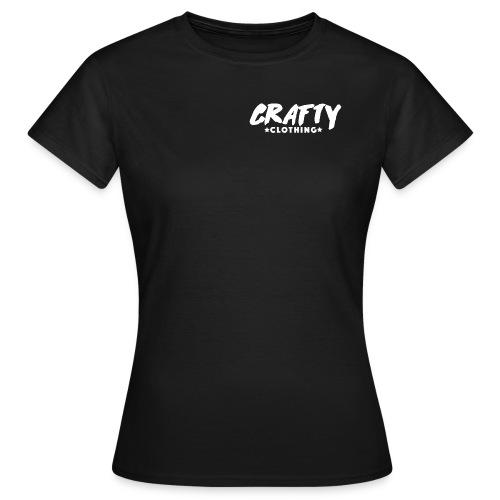 Crafty Black Womans T-Shirt - Women's T-Shirt