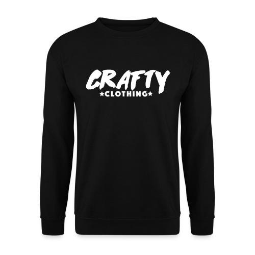 Crafty Black Jumper - Men's Sweatshirt