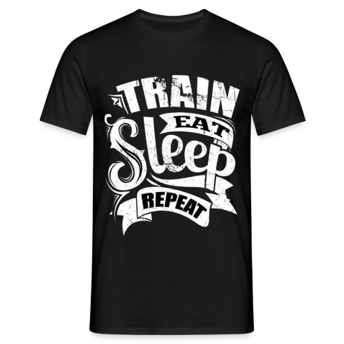 Train - T-shirt Homme