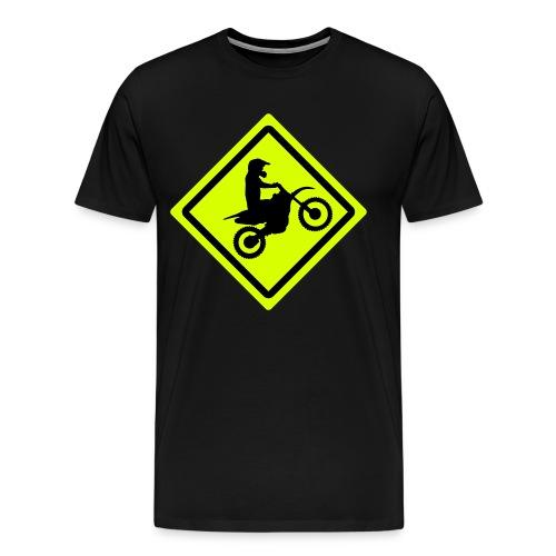 T-Shirt Attention Rider  - T-shirt Premium Homme