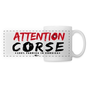 Mug attention corse - Tasse panorama