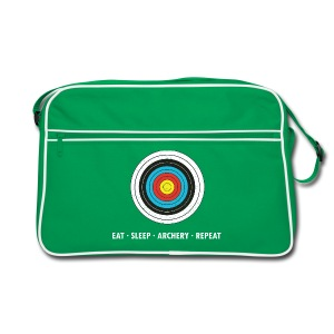 Retro Tasche - SLEEP - ARCHERY - REPEAT - Retro Tasche