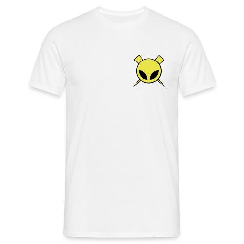 Valkoinen Fani T-Paita - Miesten t-paita