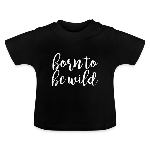 CHEEKY KIDS | 'born to be wild'-Shirt - Baby T-Shirt
