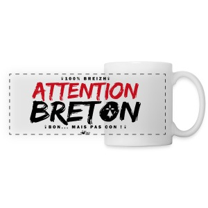Mug attention breton - Tasse panorama