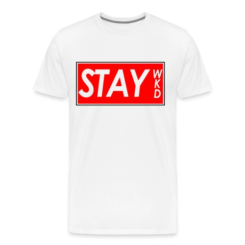 STAY WKD  - Men's Premium T-Shirt