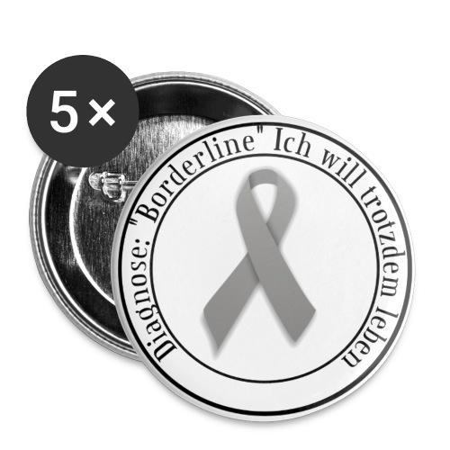 Button mit Logo - Buttons groß 56 mm