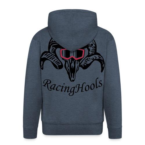 RacingHools zipper colour - Männer Premium Kapuzenjacke