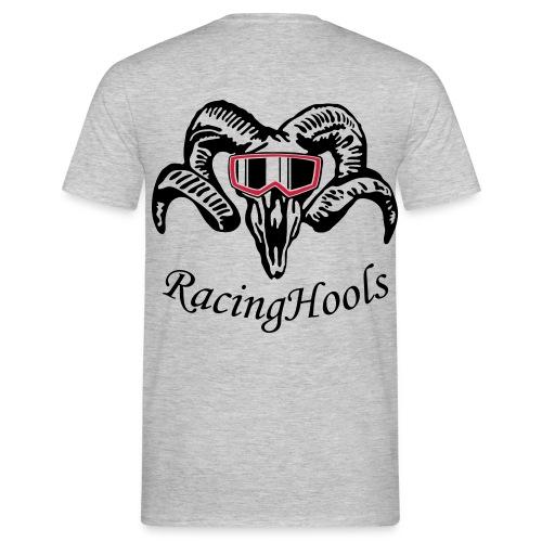 RacingHools t-shirt gray - Männer T-Shirt