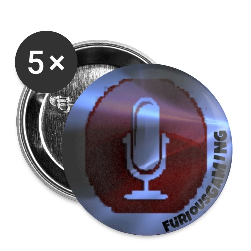 FuriousGamers coat buttons - Buttons small 1''/25 mm (5-pack)
